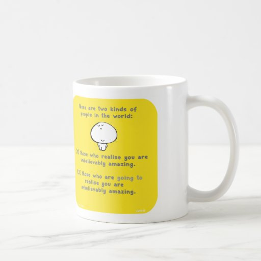 "VM8046, vimrod, ""you are amazing"", ""two kinds"" Mugs"