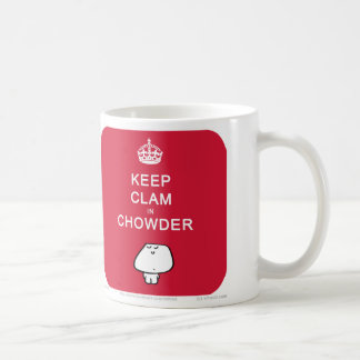 VM8613 vimrod keep clam in chowder Basic White Mug