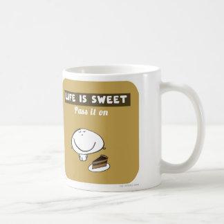 VM8620 vimrod cake life is sweet Basic White Mug