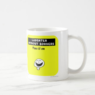 VM8623 vimrod laughter without borders Basic White Mug