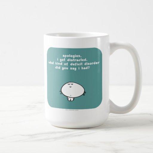"VM8634 ADD ""attention deficit disorder"" vimrod Coffee Mug"
