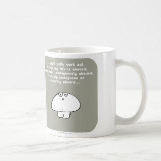 VM8637 vimrod life absurd ambiguous Basic White Mug