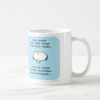 VM8639 vimrod little voices chocolate Basic White Mug
