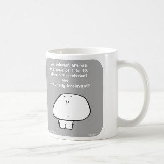 VM8642 Vimrod relevant irrelevant Basic White Mug