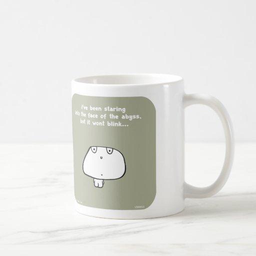 "VM8653, vimrod, abyss, blink, staring, ""staring in Coffee Mug"