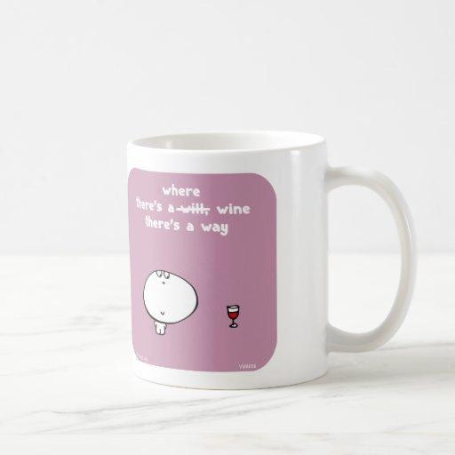 VM8659, vimrod, will, wine, way Mug