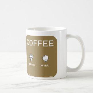 VM8695 vimrod coffee before after Basic White Mug