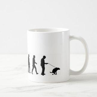 VMO08 evolution dog walking the dog Coffee Mug