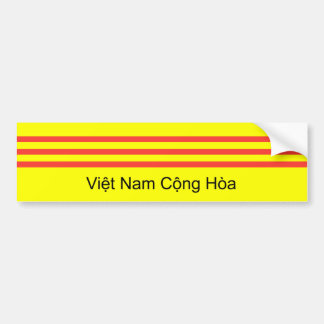 VNCH Flag Bumper Sticker