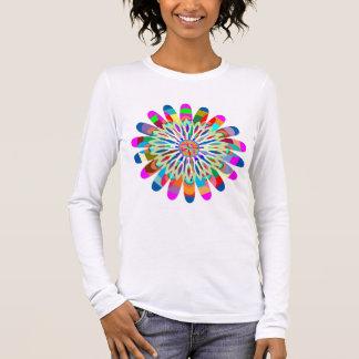 VNECK V-Neck Choice SPARKLE SPLASH Long Sleeve T-Shirt
