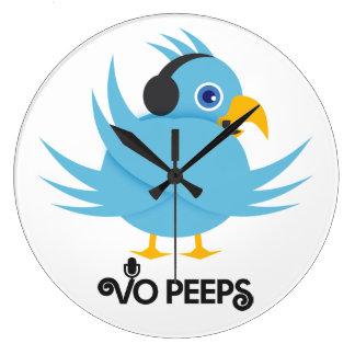 VO Peeps Large Clock