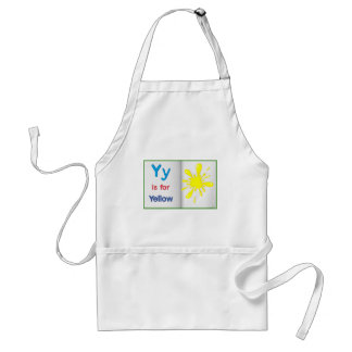 Vocabulary learning sheet adult apron