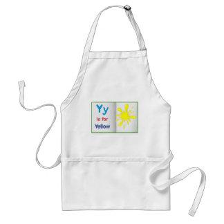 Vocabulary learning sheet adult apron