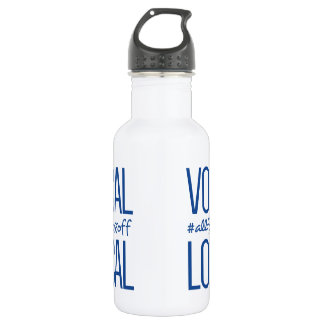 Vocal & Local Metal Water Bottle 532 Ml Water Bottle