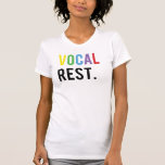 Vocal Rest - Colourful Caps Tee Shirt