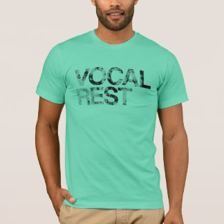 Vocal Rest - Textured Letters T-Shirt