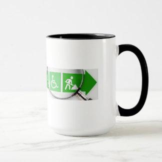 VocRehabRadio Logo Mug