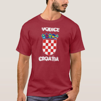 Vodice, Croatia with coat of arms T-Shirt