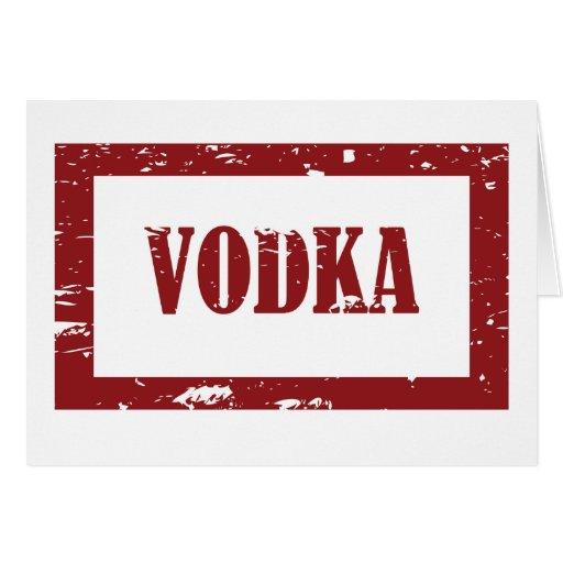 Vodka Cards