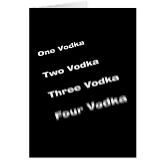 vodka card
