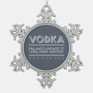 VODKA custom color ornaments
