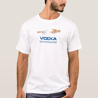 Vodka - Disconnecting people T-Shirt