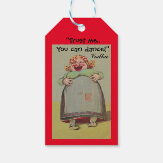 Vodka Gift Tags Fun Trust me you can dance Party