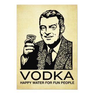"Vodka Invitation 5"" X 7"" Invitation Card"