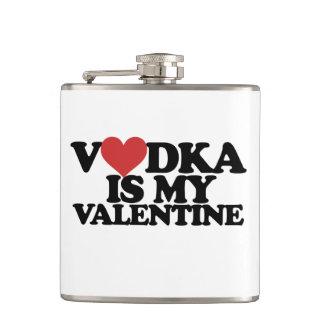 Vodka is my Valentine Flasks