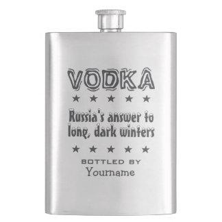 Vodka - Russia custom flask