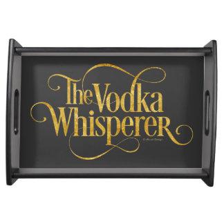 Vodka Whisperer Serving Tray