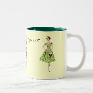 Vogue 1957 Two-Tone coffee mug