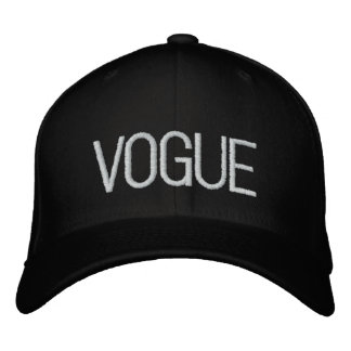 Vogue snap back cap fashion hat embroidered cap