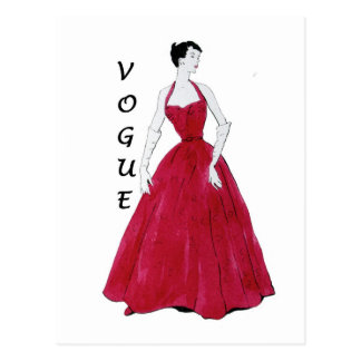 Vogue Special Design Postcard