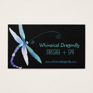 Voguish Dragonfly Massage + Spa Appointment Cards