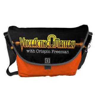 Voice Acting Mastery LRG Messenger Bag - Black O