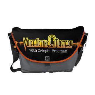 Voice Acting Mastery MED Messenger Bag - Black OG