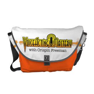 Voice Acting Mastery MED Messenger Bag - White O