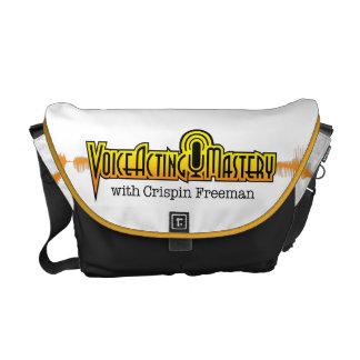 Voice Acting Mastery MED Messenger Bag - White YB