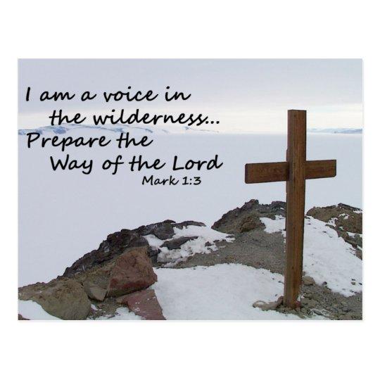 Voice in the Wilderness Postcard