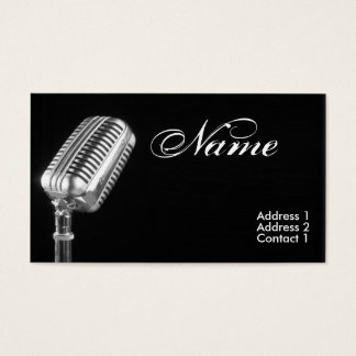 Voice Lessions Business Cards