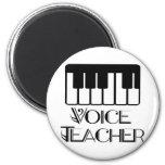 Voice Music Teacher Gift Fridge Magnets