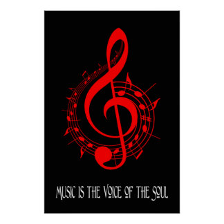 Voice of the Soul 35 x 24 Poster