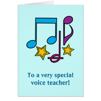 Thank You Letter Voice Teacher Gifts Shirts Art Posters Amp Other Gift Ideas