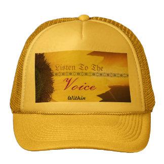 Voice within cap
