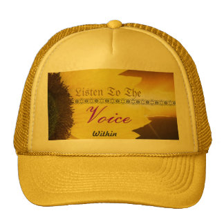 Voice within mesh hats