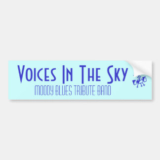 Voices In The Sky, Moody Blues tribute band Bumper Sticker