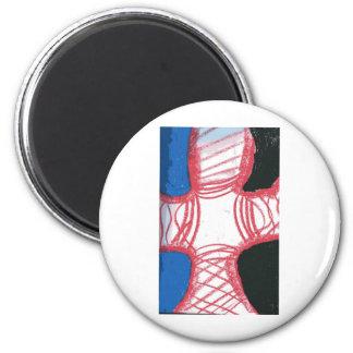 Void Division 6 Cm Round Magnet