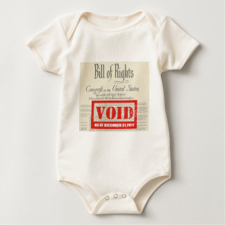 VOIDED BILL OF RIGHTS BABY BODYSUIT