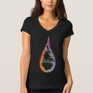 vOILà! Essential oils rainbow drop tee